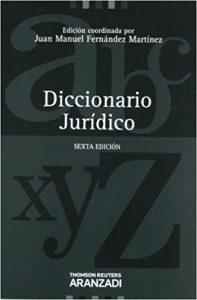 Diccionario jurídico (6ª ed.) (de la A a la Z)