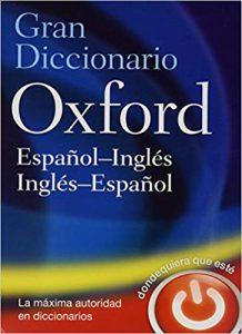 The Oxford Español-Ingles Ingles-Español Diccionario